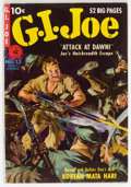 Golden Age (1938-1955):War, G. I. Joe #13 (Ziff-Davis, 1951) Condition: FN+....