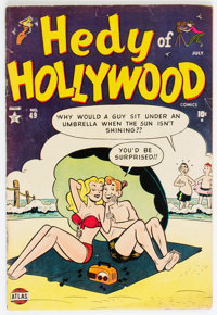 Hedy of Hollywood Comics #49 (Atlas, 1952) Condition: VG+