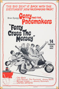 """Movie Posters:Rock and Roll, Ferry Cross the Mersey (United Artists, 1965). Folded, Fine+. One Sheet (27"""" X 41""""). Rock and Roll.. ..."""