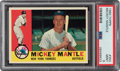 Baseball Cards:Singles (1960-1969), 1960 Topps Mickey Mantle #350 PSA Mint 9 - None Higher. ...