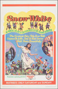 """Movie Posters:Fantasy, Snow White & Other Lot (Childhood Productions, 1965). Folded, Very Fine-. One Sheets (4) (27"""" X 41"""") & Lobby Card Sets of 8 ... (Total: 20 Items)"""