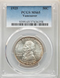 Commemorative Silver, 1925 50C Vancouver MS65 PCGS. PCGS Population: (758/477). NGC Census: (575/308). MS65. Mintage 14,994. ...