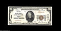 National Bank Notes:Missouri, Chillicothe, MO - $20 1929 Ty. 1 The First NB Ch. # ...