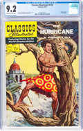 Golden Age (1938-1955):Classics Illustrated, Classics Illustrated #120 The Hurricane - Original Edition (Gilberton, 1954) CGC NM- 9.2 Off-white to white pages....