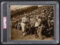 """Baseball Collectibles:Photos, 1927 Ty Cobb """"Ty Cobb"""" Day Photograph from The Ty Cobb Collection, PSA/DNA Type I...."""