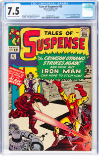 Tales of Suspense #52 (Marvel, 1964) CGC VF- 7.5 Cream to off-white pages