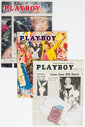 Magazines:Miscellaneous, Playboy V2#8-12 Group of 5 (HMH, 1955) Condition: Average FN+.... (Total: 5 Comic Books)