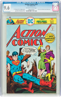 Action Comics #451 (DC, 1975) CGC NM+ 9.6 Off-white to white pages