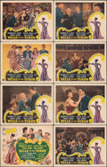 """Movie Posters:Musical, Belle of the Yukon (RKO, 1944). Overall: Very Fine. Lobby Card Set of 8 (11"""" X 14""""). Musical.. ... (Total: 8 Items)"""