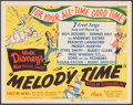 "Movie Posters:Animation, Melody Time (RKO, 1948). Very Fine+. Title Lobby Card (11"" X 14""). Animation.. ..."