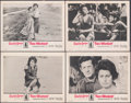 "Movie Posters:Foreign, Two Women (Embassy, 1961). Fine/Very Fine. Lobby Card Set of 4 (11"" X 14""). Foreign.. ... (Total: 4 Items)"