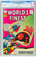 Silver Age (1956-1969):Superhero, World's Finest Comics #118 (DC, 1961) CGC VF/NM 9.0 White pages....
