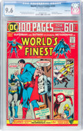 Bronze Age (1970-1979):Superhero, World's Finest Comics #226 Double Cover (DC, 1974) CGC NM+ 9.6 Off-white to white pages....
