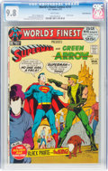 Bronze Age (1970-1979):Superhero, World's Finest Comics #210 Rocky Mountain Pedigree (DC, 1972) CGC NM/MT 9.8 White pages....