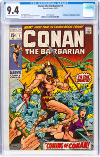 Conan the Barbarian #1 (Marvel, 1970) CGC NM 9.4 Off-white to white pages