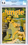 Golden Age (1938-1955):Adventure, Jungle Comics #70 (Fiction House, 1945) CGC NM 9.4 Off-white to white pages....