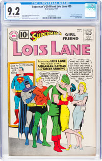 Superman's Girlfriend Lois Lane #29 (DC, 1961) CGC NM- 9.2 Off-white to white pages