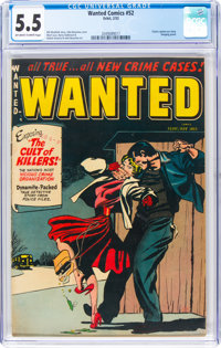 Wanted Comics #52 (Orbit, 1953) CGC FN- 5.5 Off-white to white pages