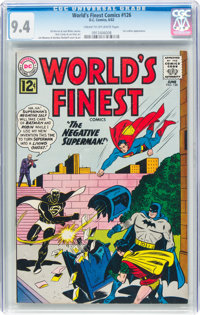 World's Finest Comics #126 (DC, 1962) CGC NM 9.4 Cream to off-white pages
