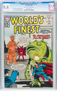 World's Finest Comics #127 (DC, 1962) CGC NM 9.4 Off-white to white pages