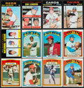 Baseball Cards:Lots, 1970-72 Topps Baseball Collection (216) Plus 32 Story Booklets & 7 Scratch Off Cards....