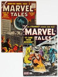 Marvel Tales #126 and 152 Group (Atlas, 1954-56).... (Total: 2 Comic Books)