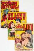 Golden Age (1938-1955):Romance, Golden Age Romance Comics Group of 4 (Various Publishers, 1949).... (Total: 4 Comic Books)