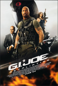 """G.I. Joe: Retaliation & Other Lot (Paramount, 2013). Rolled, Overall: Very Fine/Near Mint. One Sheets (2) (27""""..."""
