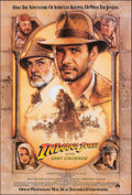 """Movie Posters:Action, Indiana Jones and the Last Crusade (Paramount, 1989). Rolled, Very Fine+. One Sheet (27"""" X 40.25"""") SS Advance, Drew Struzan ..."""