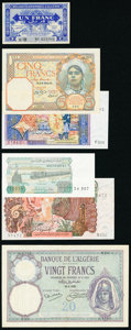 Algeria Group Lot of 11 Examples Very Fine-Crisp Uncirculated