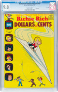 Silver Age (1956-1969):Humor, Richie Rich Dollars and Cents #20 File Copy (Harvey, 1967) CGC NM/MT 9.8 Off-white pages....