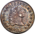 Early Dollars, 1795 $1 Flowing Hair, Three Leaves, B-5, BB-27, R.1, MS62 PCGS....