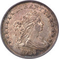 Early Dollars, 1798 $1 Large Eagle, Pointed 9, Close Date, B-27, BB-113, R.2, MS64 PCGS....
