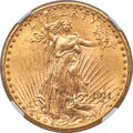 Saint-Gaudens Double Eagles, 1911-D $20 MS67 NGC....
