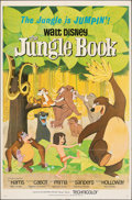 """Movie Posters:Animation, The Jungle Book (Buena Vista, 1967). Folded, Very Fine. One Sheet (27"""" X 41"""") Paul Wenzel Artwork, Animation.. ..."""