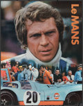 """Movie Posters:Sports, Le Mans (Cinema Center, 1971). Rolled, Near Mint-. Gulf Promotional Poster (17"""" X 22""""). Sports.. ..."""