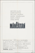 """Movie Posters:Comedy, Manhattan & Other Lot (United Artists, 1979). Folded, Fine/Very Fine. One Sheets (4) (27"""" X 41""""). Comedy.. ... (Total: 4 Items)"""