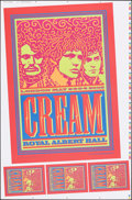Movie Posters:Rock and Roll, Cream at the Royal Albert Hall (Post-Future, 2005). Rolled, Very Fine/Near Mint. Printer's Proof Screen Print Concert Poster...