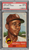 Baseball Cards:Singles (1950-1959), 1953 Topps Satchell Paige #220 PSA NM-MT 8. ...