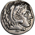 Ancients:Greek, Ancients: IONIA. Miletus. Ca. early 3rd century BC. AR drachm (18mm, 4h). NGC AU. ...