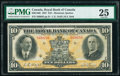 World Currency, Canada Montreal, PQ- Royal Bank of Canada $10 3.1.1927 Ch.# 630-14-06 PMG Very Fine 25.. ...
