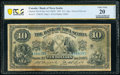 World Currency, Canada Halifax, NS- Bank of Nova Scotia $10 2.1.1929 Ch.# 550-18-20a PCGS Banknote Very Fine 20 Details.. ...