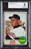 Baseball Cards:Singles (1960-1969), 1968 Topps Willie Mays #50 BVG NM-MT 8....