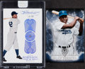 Baseball Cards:Lots, 2015 Topps Triple Threads & 2017 Panini Flawless Jackie Robinson Pair (2). ... (Total: 2 items)