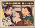"""Movie Posters:Crime, Limehouse Blues (Paramount, 1934). Very Fine-. Lobby Card (11"""" X 14""""). Crime.. ..."""