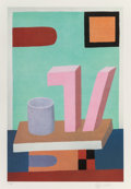 Works on Paper, Nathalie du Pasquier (French, b. 1957). Untitled, 2008. Print on board. 21-1/2 x 14-1/4 inches (54.6 x 36.2 cm) (image)...