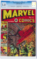Golden Age (1938-1955):Superhero, Marvel Mystery Comics #13 (Timely, 1940) CGC VG/FN 5.0 Cream to off-white pages....