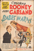 "Movie Posters:Musical, Babes in Arms (MGM, 1939). Folded, Very Good-. Australian One Sheet (27"" X 39.75""). Musical.. ..."