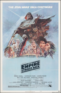 """The Empire Strikes Back (20th Century Fox, 1980). Folded, Very Fine+. One Sheet (27"""" X 41"""") Style B, Tom Jung..."""