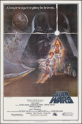 """Movie Posters:Science Fiction, Star Wars (20th Century Fox, 1977). Folded, Very Fine-. Second Printing One Sheet (27"""" X 41"""") Style A, Tom Jung Artwork. Sci..."""